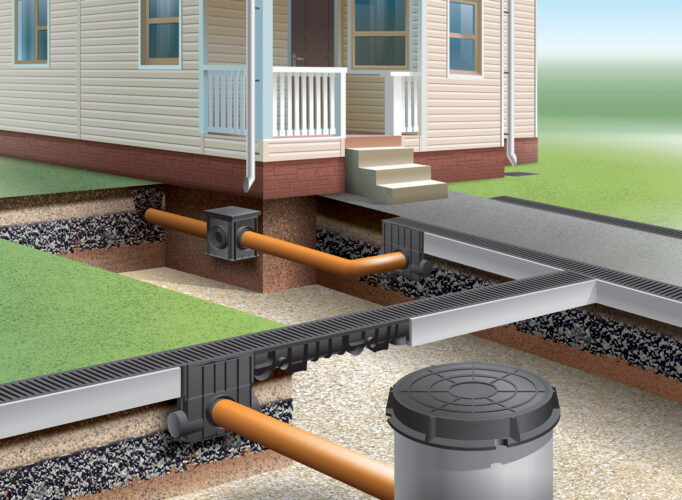 Residential Stormwater drainage