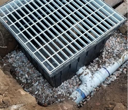 Stormwater maintenance Pit